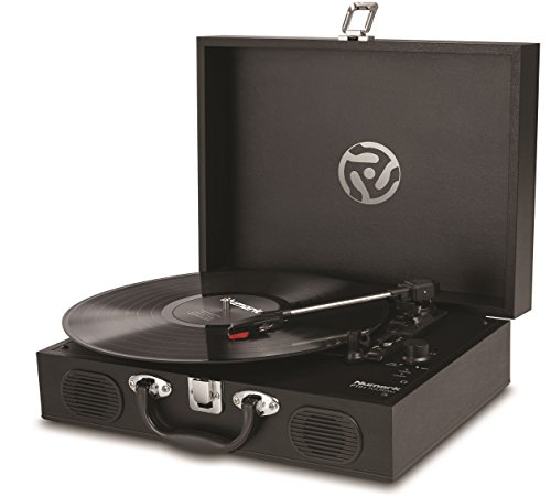 inMusic Brands Inc. Numark PT01 Touring | Classically-styled Suitcase Turntable with USB Port, and...