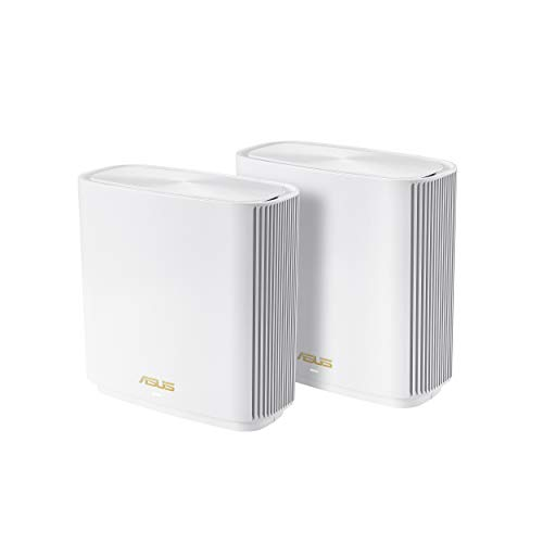 Asus ZenWiFi AX Whole-Home Tri-Band Mesh WiFi 6 System ...