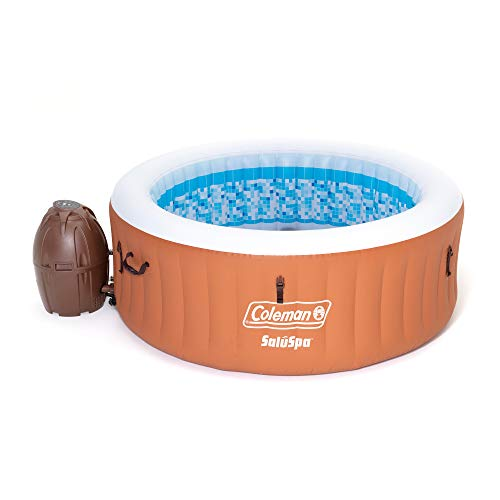 Coleman 90455 SaluSpa Miami Air Jet 4 Person Outdoor Pa...