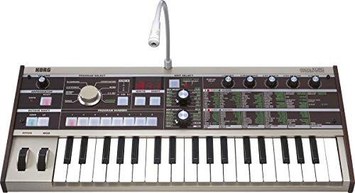 Korg micro 37-Key Analog Modeling Synthesizer with Voco...