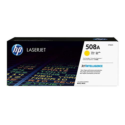 HP 508A CF362A Toner Cartridge Works with  Color LaserJ...