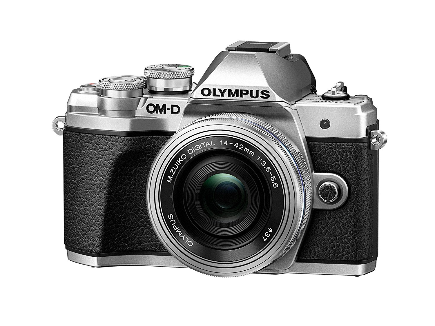 Olympus OM-D E-M10 Mark III camera kit with 14-42mm EZ ...