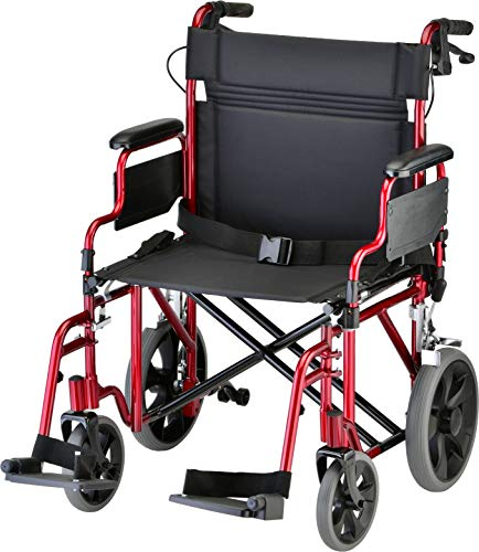 NOVA Medical Products NOVA Bariatric Transport Chair wi...