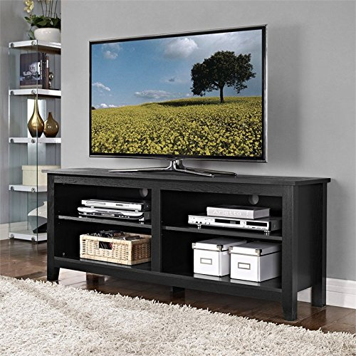 Walker Edison Furniture Company, LLC 58 in. Wood TV Console - Black