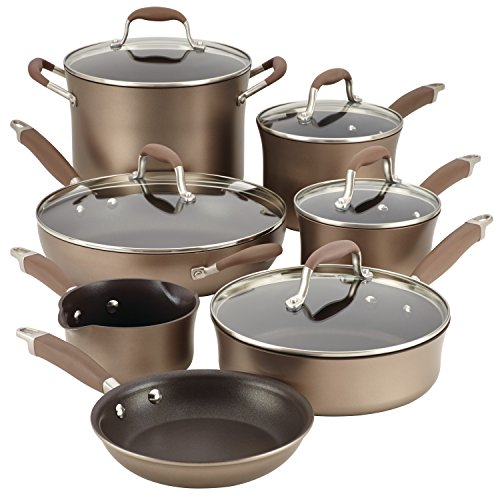 Anolon 84066 Advanced Hard Anodized Nonstick Cookware P...
