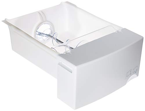GE WR17X12091 nuine OEM Ice Bucket Assembly (White) for...