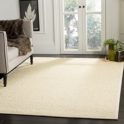 Safavieh Natural Fiber Collection NF525A Cream Sisal Ar...
