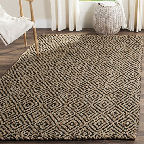Safavieh Fiber Collection NF181C Hand-woven Jute Area R...