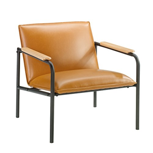 Sauder Boulevard Café Lounge Chair, Camel finish