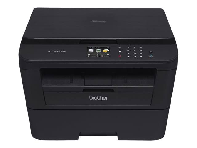 Brother Printer Brother HL-L2380DW Wireless Monochrome ...