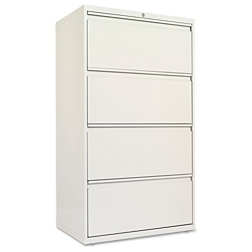 Alera LF3054LG Four-Drawer Lateral File Cabinet, 30w X ...
