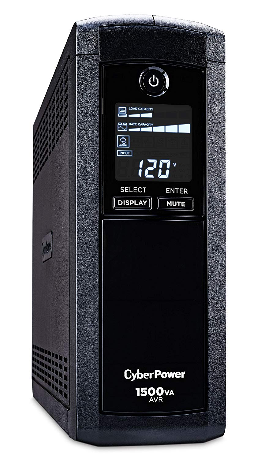 Cyber Power CyberPower  CP1500AVRLCD Intelligent LCD UP...