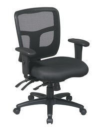 Office Star ProGrid Back Managers Chair with 2-Way Adju...