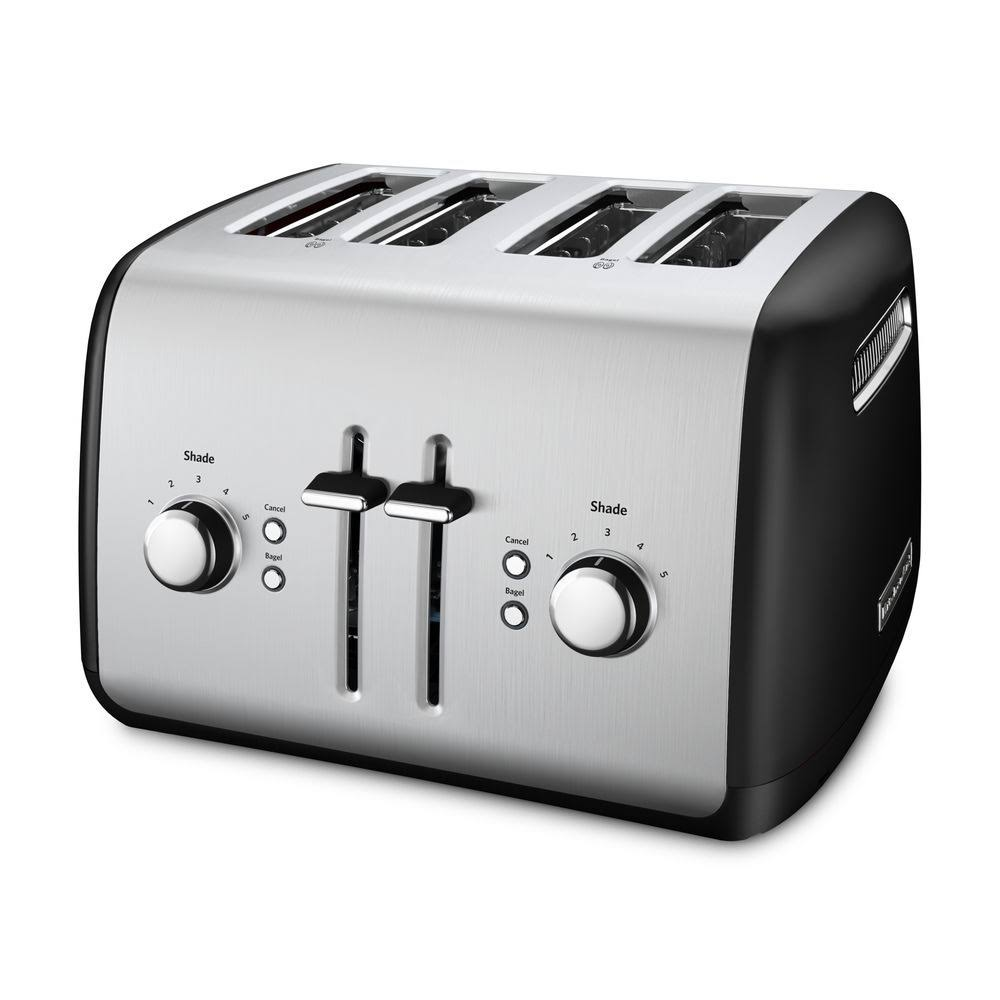 KitchenAid Toaster with Manual High-Lift Lever, Onyx Bl...