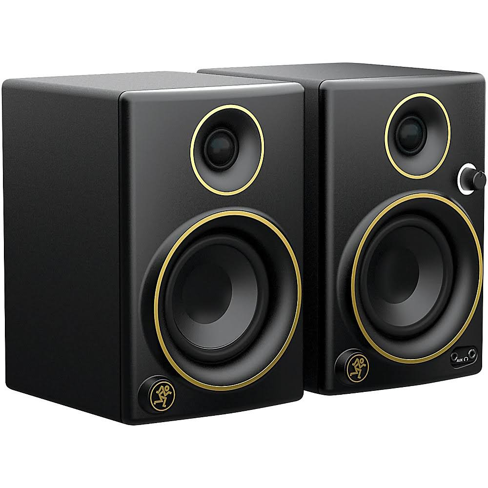 Mackie CR3 Limited Edition Gold Trim 3 in. Multimedia M...