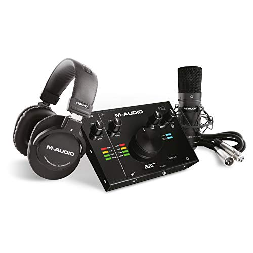 M-Audio - Complete Recording Bundle - USB Audio Interfa...