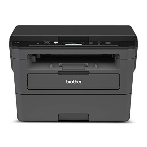 Brother Printer Brother Compact Monochrome Laser Printer, HLL2390DW, Convenient Flatbed Copy & Scan,...