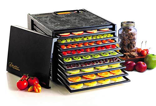 Excalibur 3900B 9-Tray Electric Food Dehydrator with Ad...