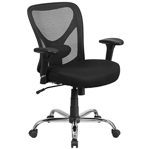 Flash Furniture Big & Tall Office Chair | Adjustable He...
