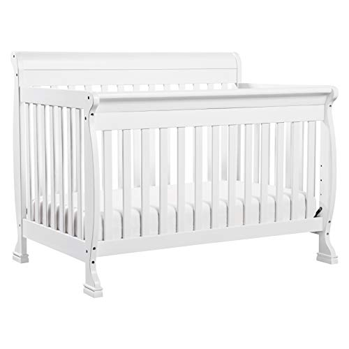 DaVinci Kalani 4-in-1 Convertible Crib in White, Greenguard Gold Certified