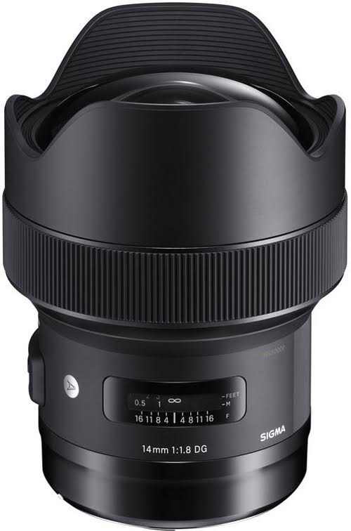SIGMA 14mm f/1.8 ART DG HSM Lens (for Canon EOS Cameras...