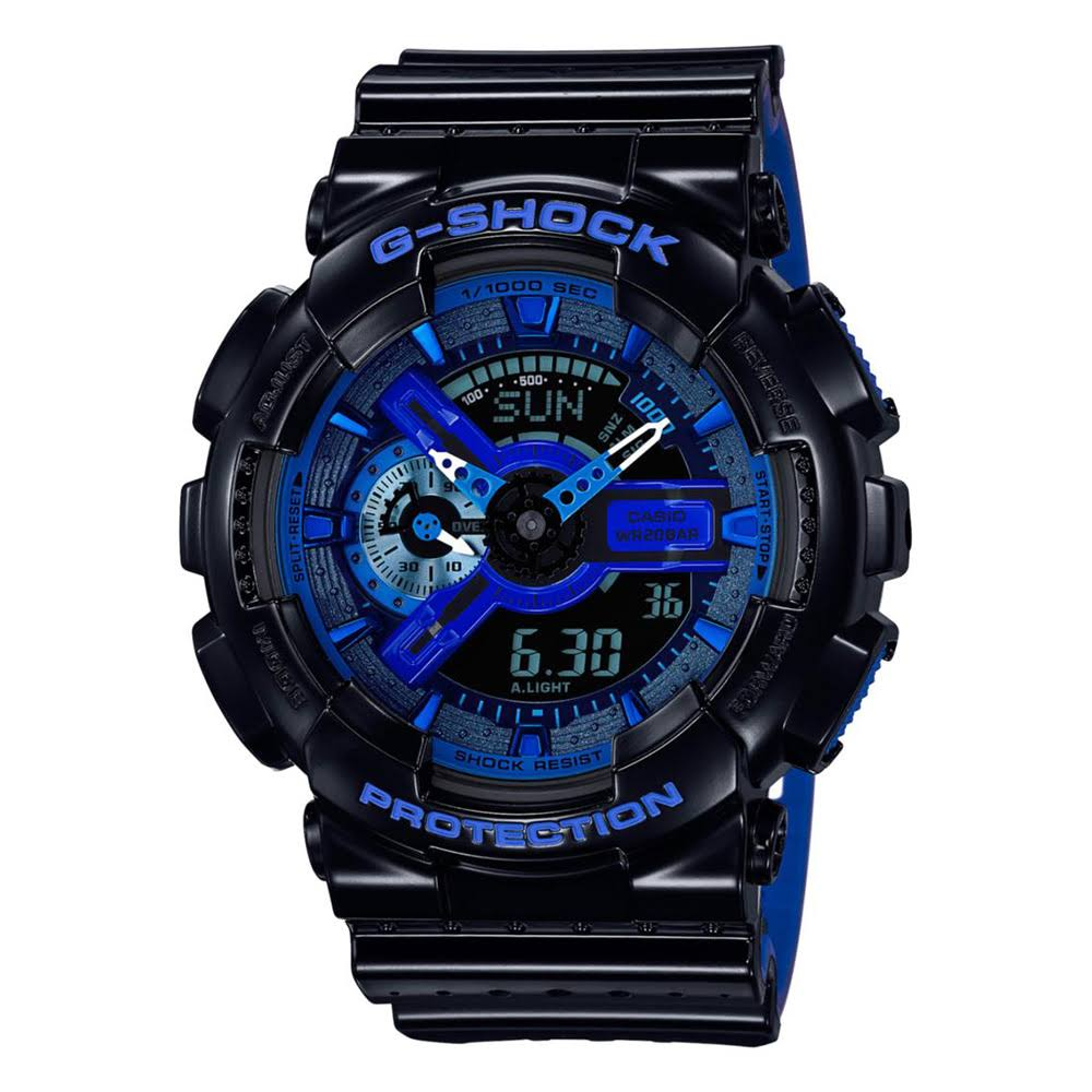 G-SHOCK GA110MB-1A Military Series Watch - Black + One Size