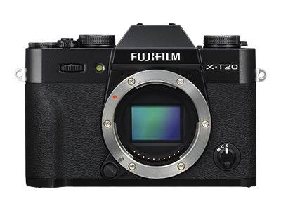 Fujifilm X-T20 Mirrorless Digital Camera - Black (Body ...