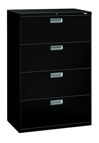 HON 4-Drawer Office Filing Cabinet - 600 Series Lateral...