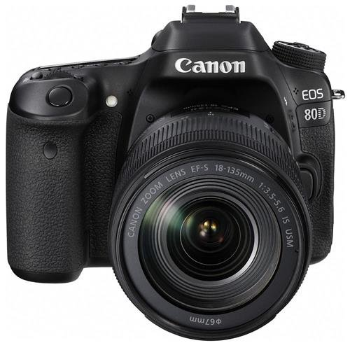 Canon EOS 80D Digital SLR Kit with EF-S 18-135mm f/3.5-...