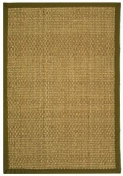 Safavieh Traditional Rug - Natural Fiber Seagrass With ...