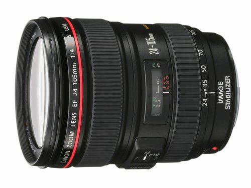 Canon EF 24-105mm f/4 L IS USM Lens for EOS SLR Cameras