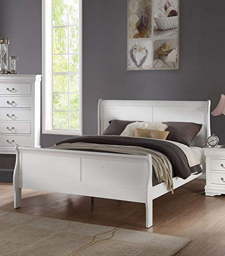 Acme Furniture ACME Louis Philippe Queen Bed - - White