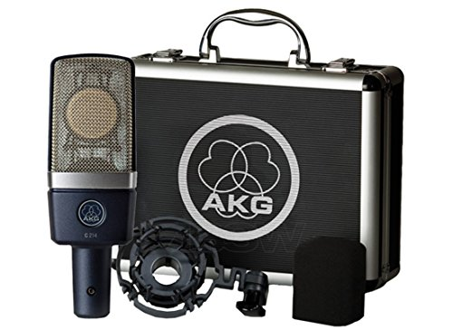 AKG C214 Microphone for Recording acoustic instruments ...