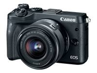 Canon EOS M6 (Black) EF-M 15-45mm f/3.5-6.3 IS STM Lens...