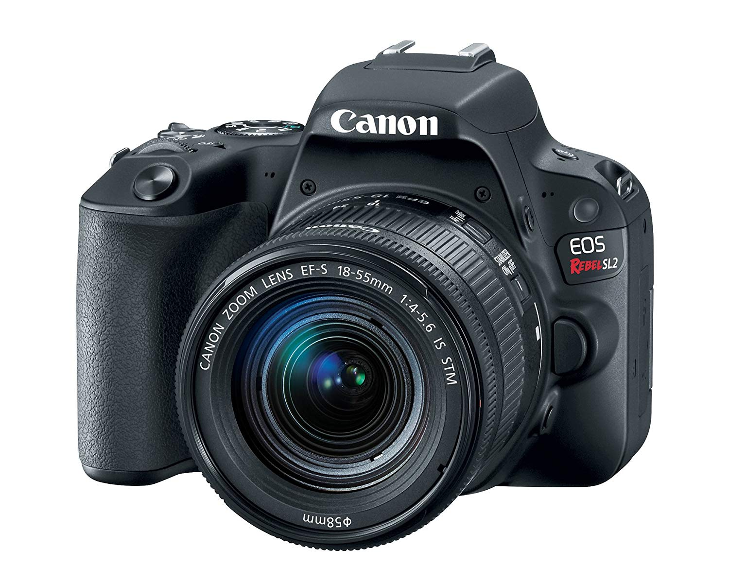 Canon EOS Rebel SL2 DSLR Camera with EF-S 18-55mm STM L...