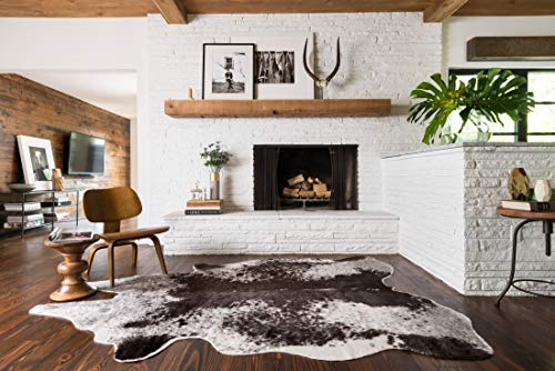 Loloi II GC-03 Grand Canyon Collection Faux Cowhide Are...
