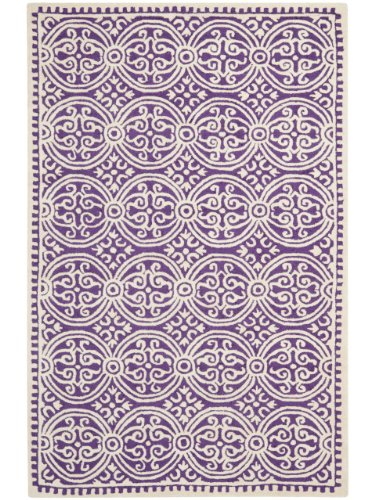 Safavieh Rug in Purple and Ivory (12 ft. L x 9 ft. W)