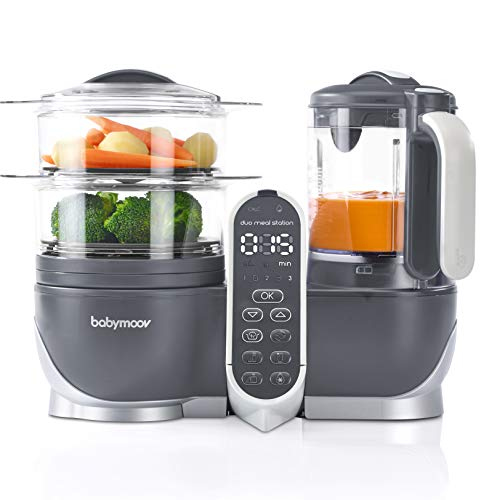 Babymoov Duo Meal Station Food Maker | 6 in 1 Food Proc...