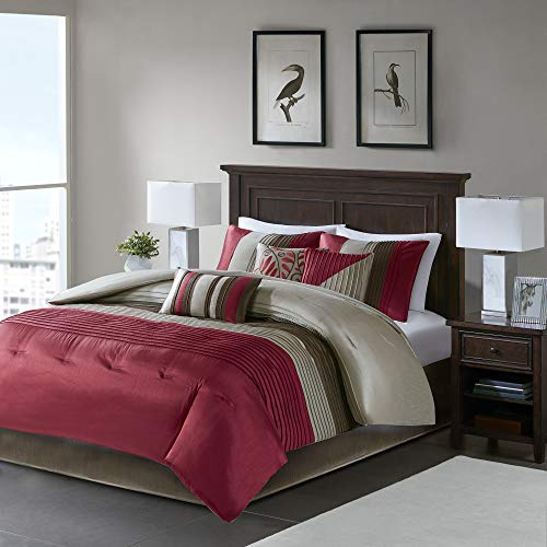 Madison Park Amherst Faux Silk Comforter Set-Casual Con...