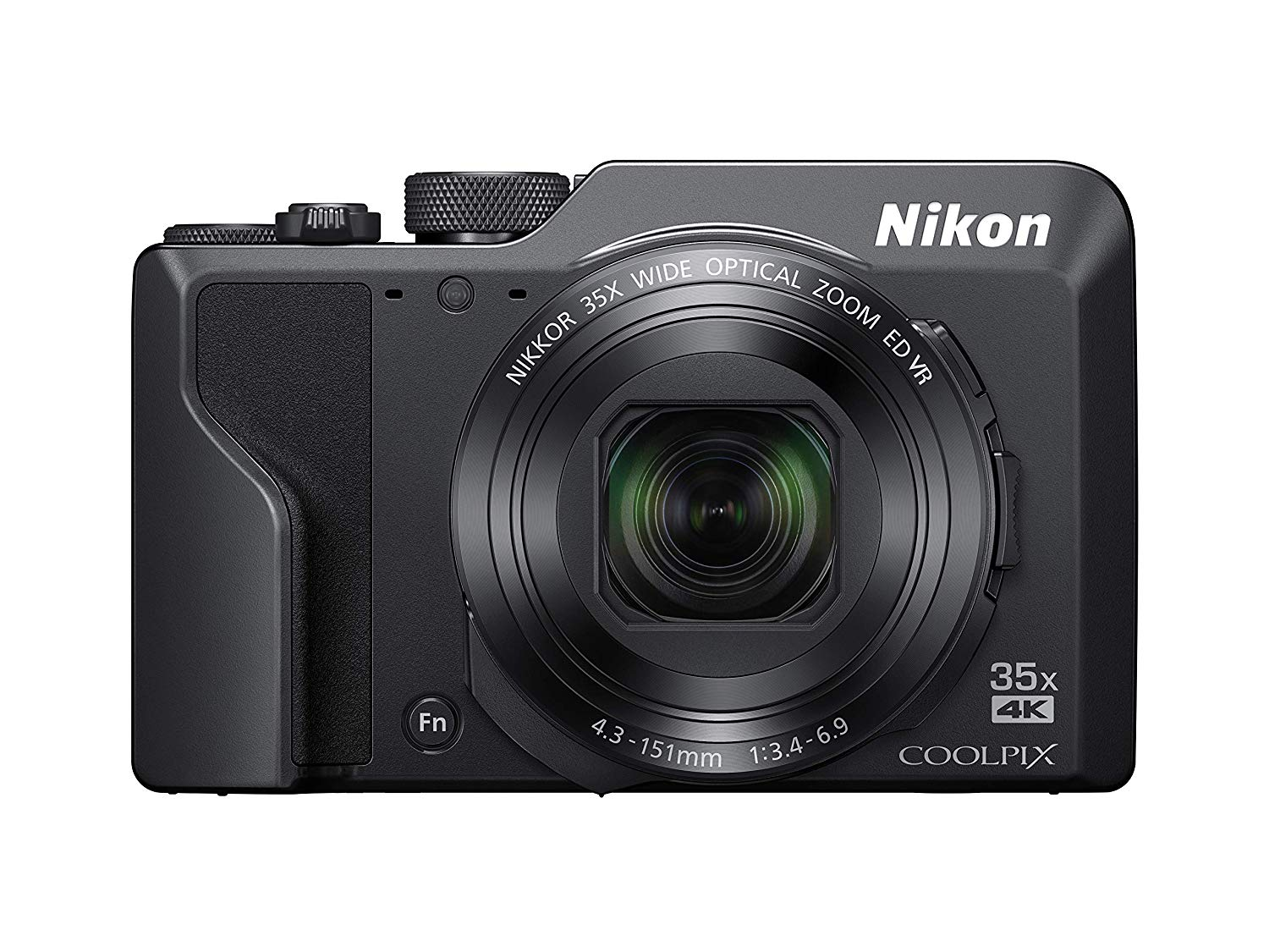 Nikon COOLPIX A1000 16MP Compact Digital Camera, 35x Op...
