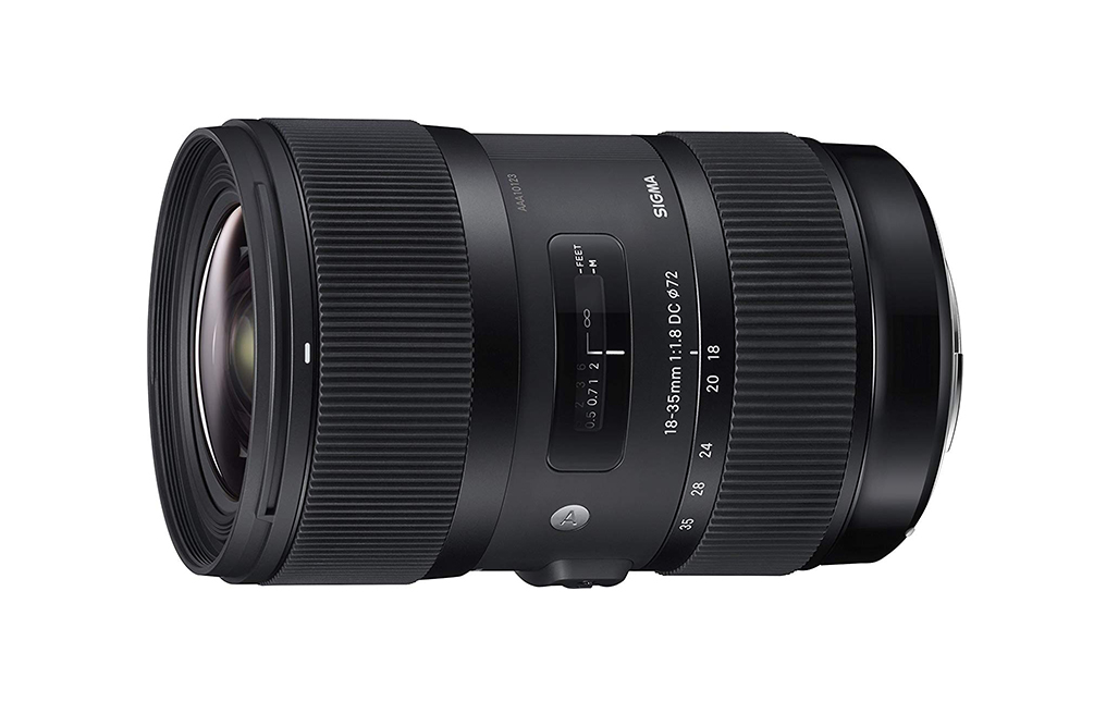 Sigma 18-35mm F+1.8 DC HSM Zoom Lens For Nikon